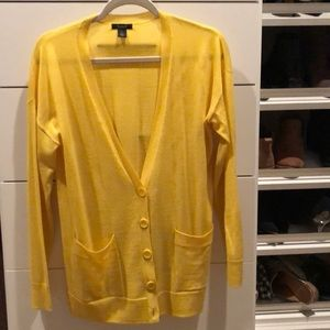 Yellow Cardigan beautiful